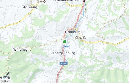 Stadtplan Grünburg