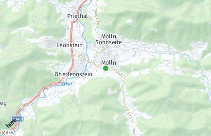 Stadtplan Molln
