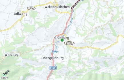 Stadtplan Steinbach an der Steyr