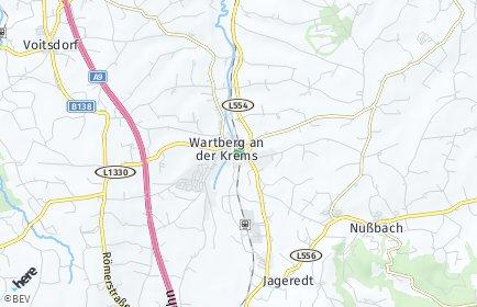 Stadtplan Wartberg an der Krems