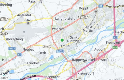 Stadtplan Linz-Land