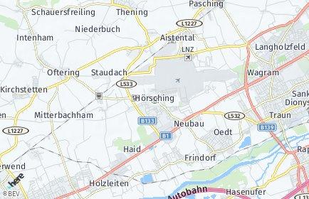 Stadtplan Hörsching