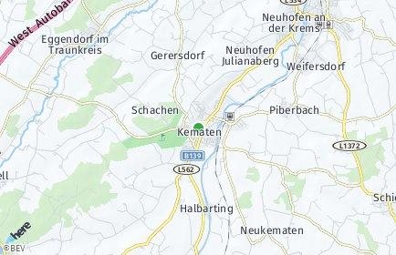 Stadtplan Kematen an der Krems
