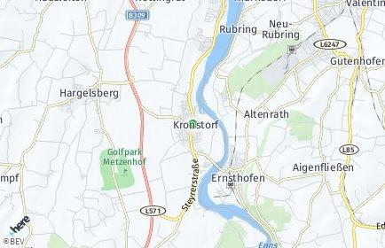 Stadtplan Kronstorf OT Schieferegg