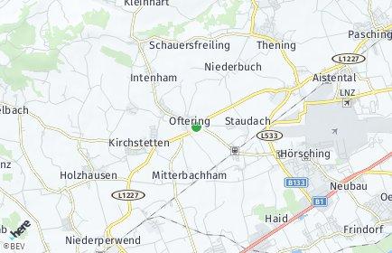 Stadtplan Oftering