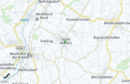 Stadtplan Sankt Marien