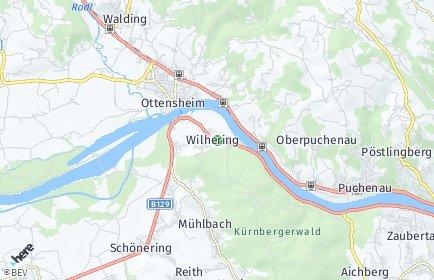 Stadtplan Wilhering