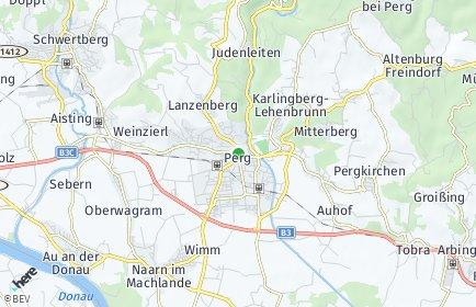 Stadtplan Perg