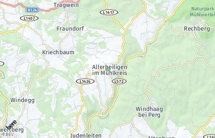 Stadtplan Allerheiligen im Mühlkreis