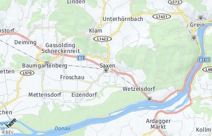 Stadtplan Saxen