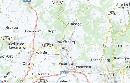 Stadtplan Schwertberg