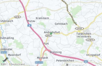 Stadtplan Andrichsfurt