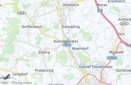 Stadtplan Aurolzmünster