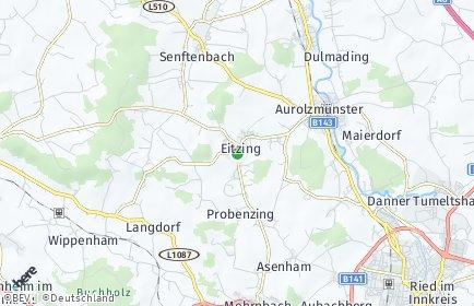 Stadtplan Eitzing