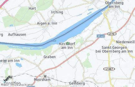 Stadtplan Kirchdorf am Inn
