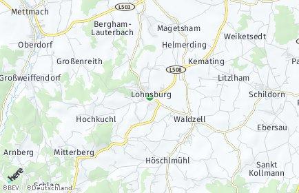 Stadtplan Lohnsburg am Kobernaußerwald