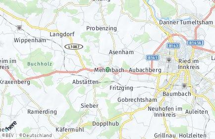 Stadtplan Mehrnbach