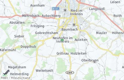 Stadtplan Neuhofen im Innkreis
