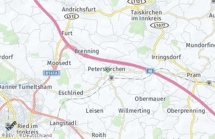 Stadtplan Peterskirchen