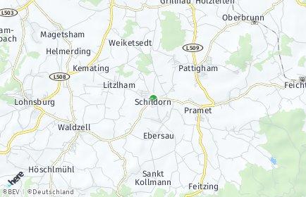 Stadtplan Schildorn