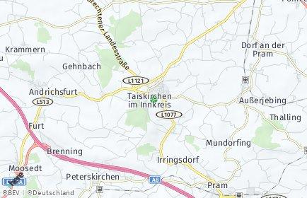 Stadtplan Taiskirchen im Innkreis OT Flohleiten
