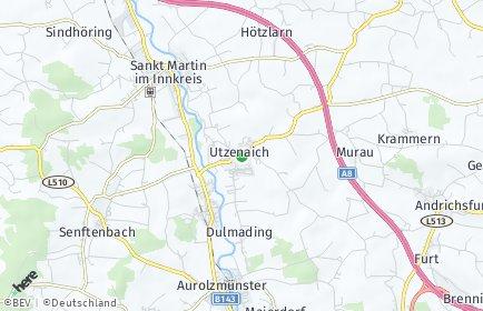 Stadtplan Utzenaich