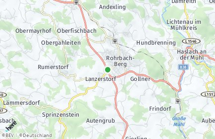 Stadtplan Rohrbach