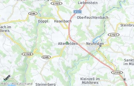 Stadtplan Altenfelden