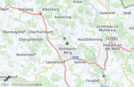 Stadtplan Rohrbach-Berg
