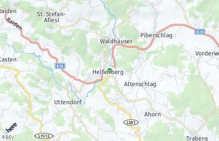 Stadtplan Helfenberg