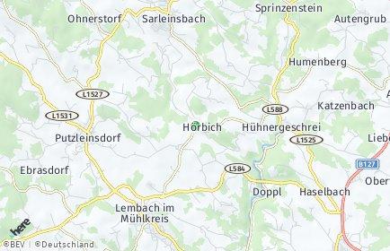 Stadtplan Hörbich