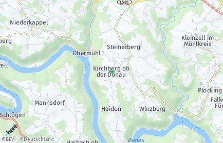 Stadtplan Kirchberg ob der Donau