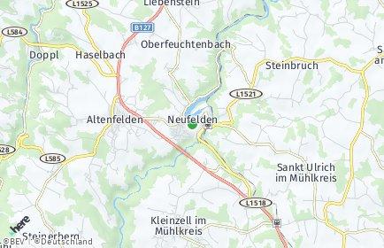 Stadtplan Neufelden