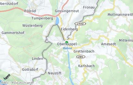 Stadtplan Oberkappel