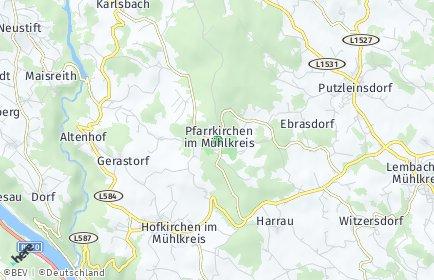 Stadtplan Pfarrkirchen im Mühlkreis