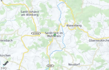 Stadtplan Sankt Veit im Mühlkreis