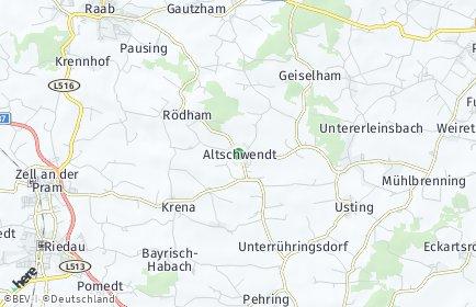 Stadtplan Altschwendt