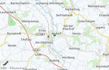 Stadtplan Andorf