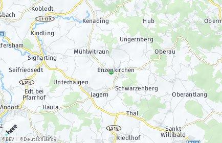 Stadtplan Enzenkirchen