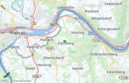 Stadtplan Freinberg