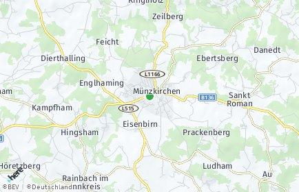 Stadtplan Münzkirchen