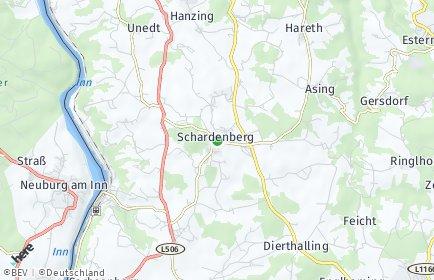 Stadtplan Schardenberg