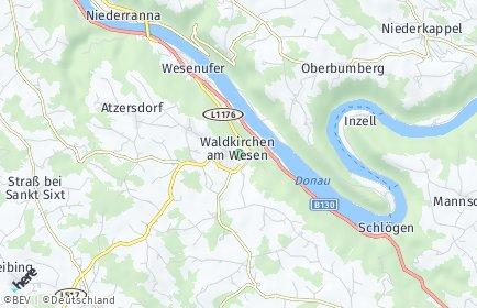 Stadtplan Waldkirchen am Wesen