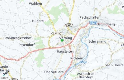 Stadtplan Sierning OT Pichlern