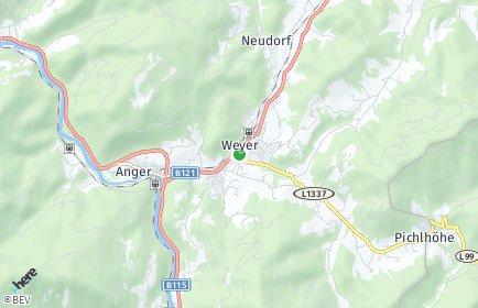 Stadtplan Weyer