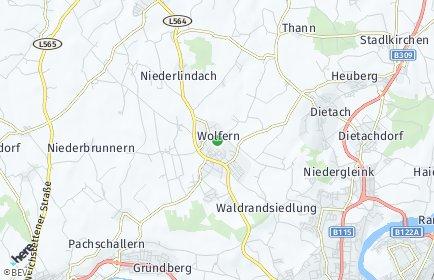 Stadtplan Wolfern