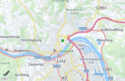 Stadtplan Urfahr-Umgebung