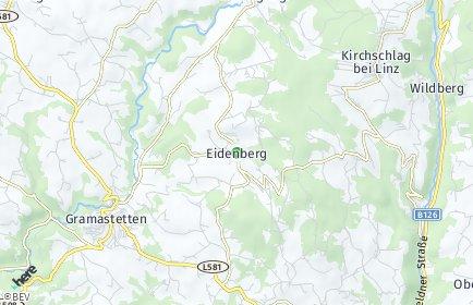 Stadtplan Eidenberg