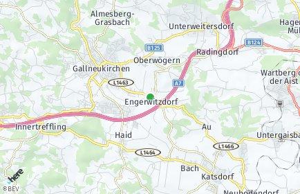 Stadtplan Engerwitzdorf OT Weingraben