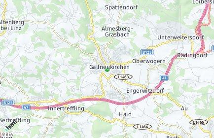 Stadtplan Gallneukirchen